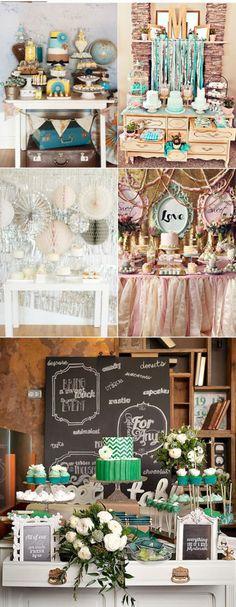 morder-blue-green-yellow-rose-wedding-dessert-table-ideas