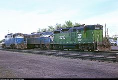 RailPictures.Net Photo: BN 2033 Burlington Northern Railroad EMD GP20 at Staples, Minnesota by Bill Edgar
