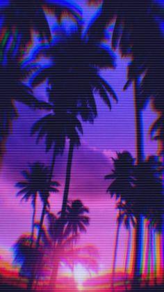p a l m b e a c h : VaporwaveAesthetics Glitch Wallpaper, Purple Wallpaper, Retro Wallpaper, Aesthetic Iphone Wallpaper, Aesthetic Wallpapers, Cyberpunk Aesthetic, Purple Aesthetic, Aesthetic Art, Vaporwave Wallpaper