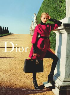 Tim Howard Management - DUFFY FOR THE DIOR SECRET GARDEN F/W 2012 CAMPAIGN BY INEZ + VINOODH
