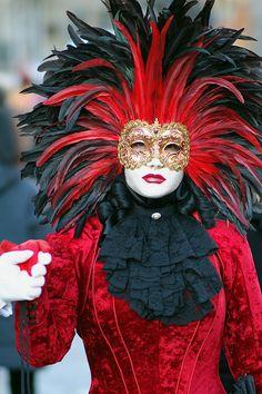 Venice carnival costume/mask