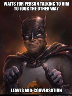 Batmans conversation style