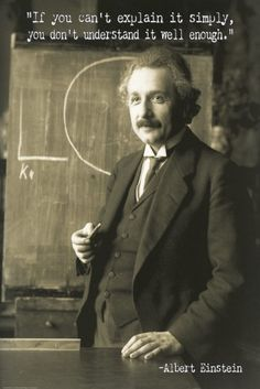 Albert Einstein - plakat