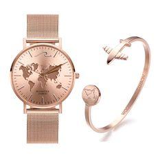 Sahara Set – WOODSTOCK ZAMBON 316l Stainless Steel, Stainless Steel Bracelet, Woodstock, Mesh Band, Watch Brands, Gold Watch, Bracelet Watch, Quartz, Rose Gold