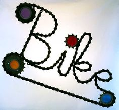 Items similar to Stained glass bicycle wheel - recycled on Etsy Bicycle Spokes, Bicycle Wheel, Bicycle Art, Bike Chain, Color Themes, Colored Glass, Stained Glass, At Least, Recycling