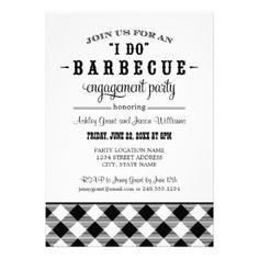Teal Wedding Reception I Do BBQ Card Wedding reception