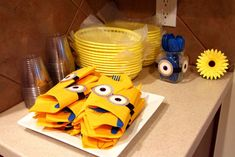 Despicable Me Birthday Party Ideas | Photo 11 of 36 | Catch My Party
