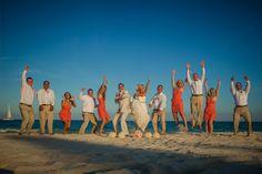 Destination Beach Wedding & Bridal Party