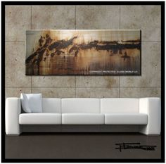 761b2fb94ea Large Abstract, Modern, Canvas Painting, Contemporary Wall Art, 60 inch  Ready to Hang, Limited Edition Giclee.....ELOISExxx