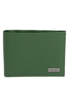 Salvatore Ferragamo 'New Revival' Leather Wallet