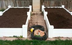 This is a blog post on how to build a vinyl square foot garden box. I built 7 of these types of garden boxes for my backyard. They are very sturdy and require no maintenance; plus they look nice.