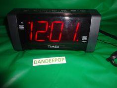 Timex Digital Alarm Clock Radio #T235  find me at www.dandeepop.com