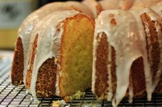 The Ultimate Lemon Bundt Cake |  Seriously the best lemon pound/bundt cake ever. I did mix the zest with the sugar and used lemon yogurt instead of buttermilk when I made the glaze.