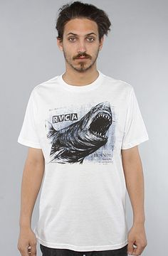 The Great White Tee in White by RVCA