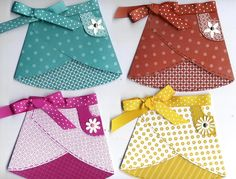 Dogg and Pony Show: skirt apron cards