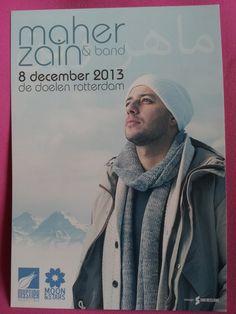 Maher Zain & band: Sterk> Rust uitstralende lay-out. Zwak> Als je hem niet kent, niet duidelijk wie hij is en wat hij doet.