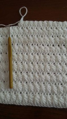 """Crochet Star Stitch (Making a baby blanket or scarf? See the """"Star Stitch Cap"""" t… Crochet Star Stitch (Making a baby blanket or scarf? See the """"Star Stitch Cap"""" tutorials I have pinned… Deb) Learn to do the Star Stitch with Crochet. Crochet Star Stitch, Crochet Stars, Crochet Afghans, Crochet Flowers, Baby Knitting Patterns, Crochet Blanket Patterns, Free Knitting, Knitting Stitches, Crochet Ideas"""