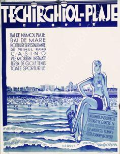 Afis interbelic at vintage travel posters, vintage ads, graphic design, Vintage Travel Posters, Vintage Ads, Vintage Images, Railway Posters, Themes Photo, Art Deco Posters, Vintage Graphic Design, World Star, Modern