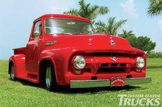 1954 Ford F-100 - Santa Express - Custom Classic Trucks Magazine