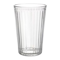 IKEA - VARDAGEN, Glass, Also suitable for hot drinks.Made of tempered glass, which makes the glass durable and extra resistant to impact.The glass has a simple tall and straight shape which makes it perfect for all types of cold drinks, such as carbonated cocktails with a lot of ice.