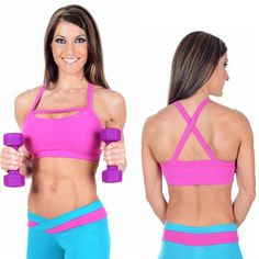 Rock the Fit Yoga Sports bra at the gym, the yoga studio or a fitness related photo-shoot! Mix and match this top with any of our stylish bottoms. Cute Sports Bra, Fitness Photoshoot, Fitness Competition, Bicycle Race, Hot Yoga, Gym Wear, Fitness Fashion, Fitness Wear, Athletic Wear