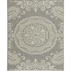 Balta US Georgiana Grey 7 ft. 10 in. x 10 ft. Area Rug-304136392403051 - The Home Depot
