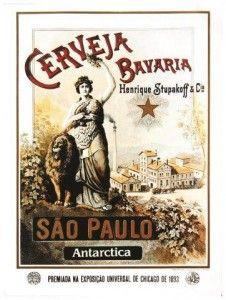 Antarctica Cerveja Bavária 1895