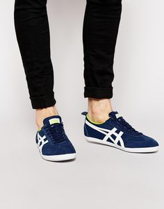 Onitsuka+Tiger+Mexico+66+Vulc+Suede+Trainers