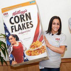 Eat Corn Flakes... Jordyn Wieber does.