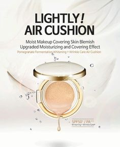 Gue-eallang CC Cushion.  #skincare #skin #cccushion #cushion #powder #makeupbase #makeup