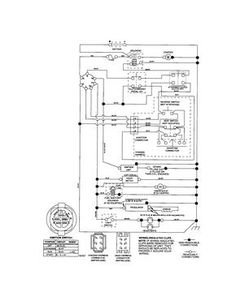 919701bf2fe37b619fe9c16d586db4df craftsman riding mower electrical diagram wiring diagram MTD Riding Mower Wiring Diagram at gsmx.co