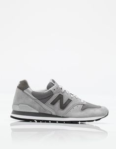 New Balance M996-GL | Tags: sneakers, low-tops, light gray, slate, suede