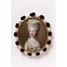 Miniature portrait, 1781, VandA LOAN:GILBERT.242:1, 2-2008