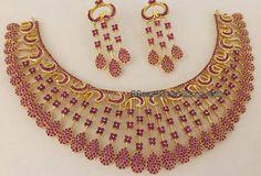 Latest 1gram Gold Necklaces
