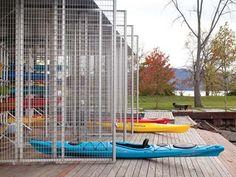 Boat Pavilion for Long Dock Park - AIA Awards