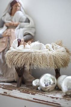 This is the kind of nativity I want...simple, neutral.