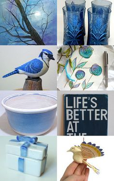 Once in a blue moon by Graciela Gacek on Etsy--Pinned with TreasuryPin.com #integritytt