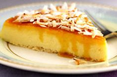 Coconut-Cream Cheese Flan recipe#tighteningcookbook #bracesfriendly