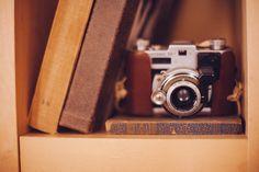 Câmera Fotográfica na Decoração