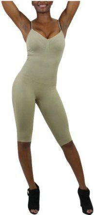 555c6243e82e3 ToBeInStyle Women s Full Body Shapewear w  Adjustable Straps - Medium -  Beige ToBeInStyle.  34.00