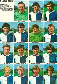 Roger Jones, Blackburn Rovers Fc, Goalkeeper, Football Team, Champion, Stickers, 1970s, Sports, Goaltender