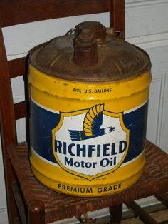 Richfield Motor Oil - 5 Gallon Can