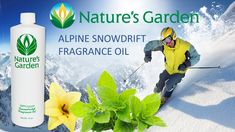 Alpine Snowdrift Fragrance Oil - Nature's Garden
