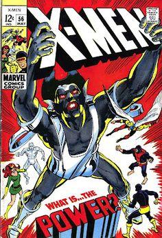 X-men v1 #56 marvel comic book cover art by Neal Adams