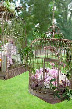 Idée Déco 6 : Les cages à oiseaux