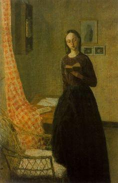 A Lady Reading by Gwen John