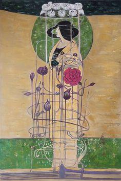 Mackintosh - Design for a Wall Decoration