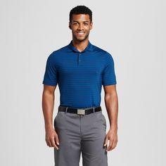 Men's Stripe Golf Polo Shirt - C9 Champion - Dark Night Blue Xxl