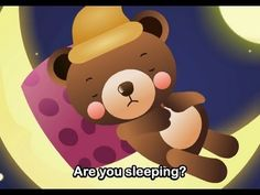 Muffin Songs - Are You Sleeping? | nursery rhymes & children songs with lyrics | muffin songs