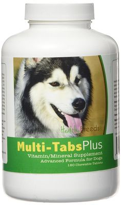 Healthy Breeds Multi Vitamin Plus Chewable tablet for Siberian Husky 180Count -- Details can be found by clicking on the image. (This is an affiliate link) #DogSupplementsandVitamins